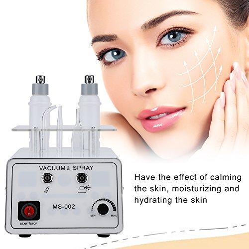 Cocoarm 3 in 1 Diamond Microdermabrasion Maschine Gesichtspflege Gerät Skin Beauty Machine Dermabrasion Maschine mit Pray Maschine Exfoliert Resurfaces Die Haut - Microdermabrasion Kit