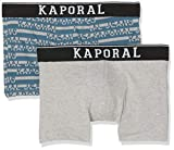 Kaporal QUEVA Boxer Homme, 2er Pack|#2 per Pack, Multicolore (Norsea Norsea), Taille Fabricant: M