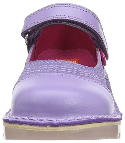 Kickers Kick Pop Patent, Mary Jane fille Violet (Violet)