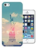 003408 - Statue of Liberty New York NYC Design iphone SE / iphone 5 5S Fashion Trend Protecteur Coque Gel Rubber Silicone protection Case Coque