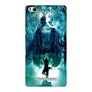 Delighted Power Shiva Back Case Cover for Xiaomi Mi4i
