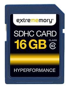 ExtreMemory EXMESDHC16GC10 HyPerformance Carte mémoire SDHC 16 Go