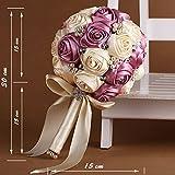 Bridal Wedding Bouquet, sposa con fiori, artificial flowers-XT-3050