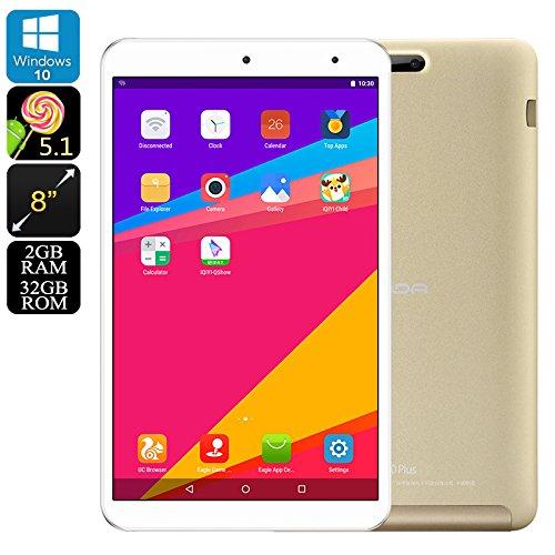 """Onda V80 Plus Tablet PC Windows 10 Android 5.1 OTG Quad Core 2GB RAM 8"""" Display"""