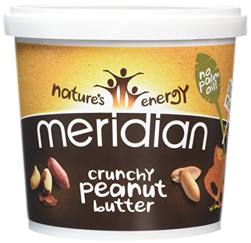 Meridian Natural Crunchy Peanut Butter With No Added Salt 1 kg - Pack of 2 Test
