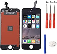 Touch Screen Glass LCD Display Screen Digitizer Assembly Replacement for iPhone with FREE Repair Tool Kits &am