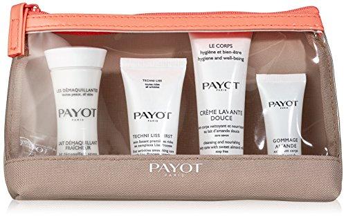 Payot Pflege Le Corps Kit Voyage Top To Toe Crème Lavante Douce 25 ml + Gommage Amande 8 ml + Lait Démaquillant Fraîcheur 30 ml + Techni Liss First 15