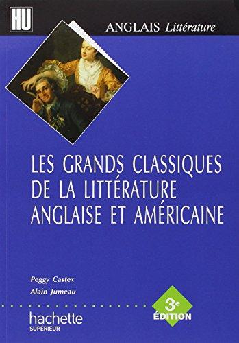 Les grands classiques de la littérature anglaise et américaine