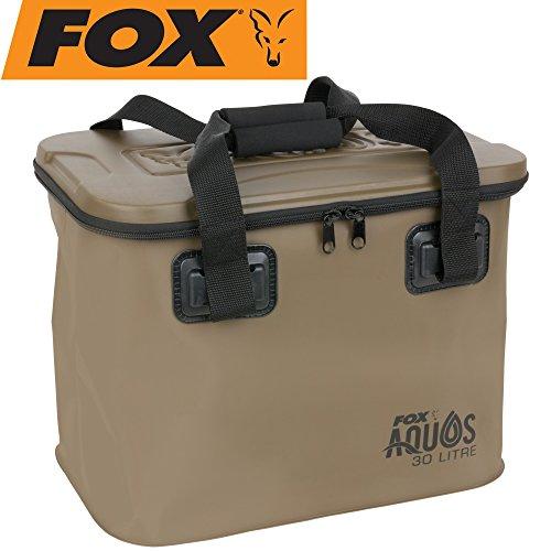 Fox AFox Aquos EVA Bag 30l - Angeltasche zum Karpfenangeln, Tackletasche zum Angeln auf Karpfen, Tasche für Angelzubehör & Köder