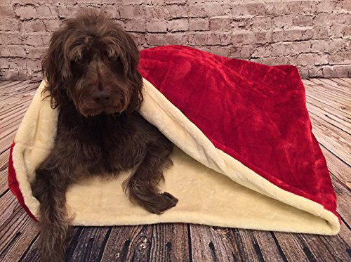 snuggle-schlafsack-haustier-bett-fur-katzen-oder-hunde-von-lola-s-pet-rot-creme