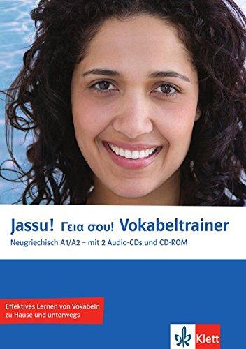 Preisvergleich Produktbild Jassu! A1/A2 Vokabeltrainer: Neugriechisch für Anfänger. Vokabelheft + 2 Audio-CDs + CD-ROM (PC/Mac) (Jassu! / Neugriechisch für Anfänger)