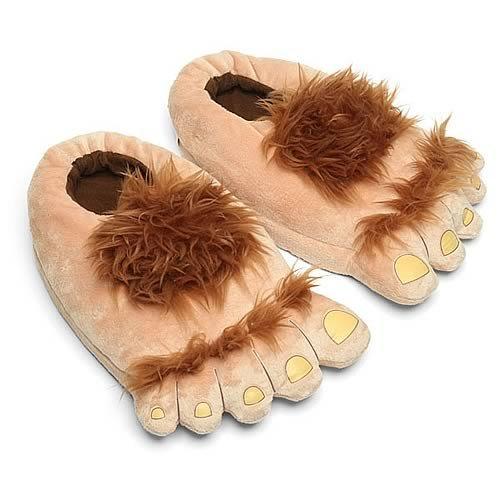 sse Pantoffeln Hobbit Füße - 44-46 ()