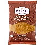 Rajah - Curri suave de madrás en polvo - 100 g