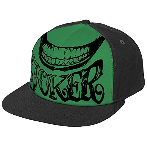 Suicide Squad Joker Snapback-Cap schwarz/grün