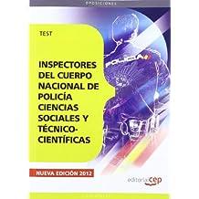 Inspectores del Cuerpo Nacional de Policía. Test (Cuerpos Seguridad Y Simila)