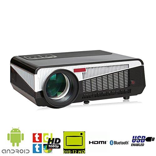 proyector formato FULLHD soportado, LED de 200w, TDTHD, Wifi, Android, Bluetooh, Alta...