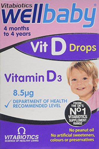 Vitabiotics Wellbaby Vit D Drops – 30 ml