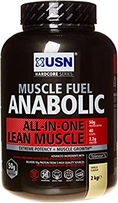 USN 2 kg Anabolic Vanilla Muscle Fuel by USN