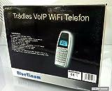 BlueTinum VOIP Wifi WLAN Telefon Wifi Phone, BT-WFP1000, Handy Sip, WEP, WPA