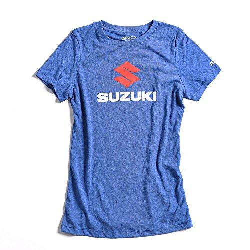 Factory Effex  womens T-Shirt (vintage royal, Medium), 1 Pack