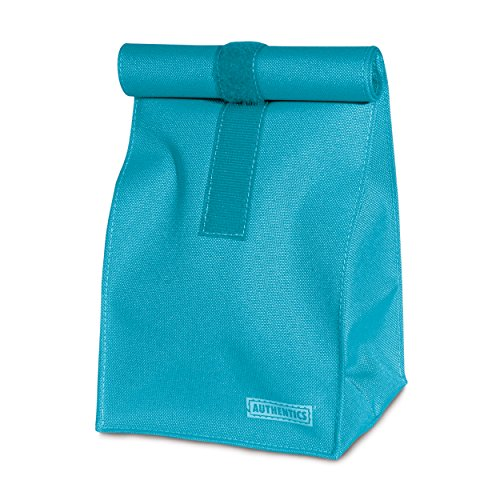 Authentics Rollbag Petit, Sac à Fermeture Enroulable, Polyester, Turquois, 14X29X11.5 cm, 6031186