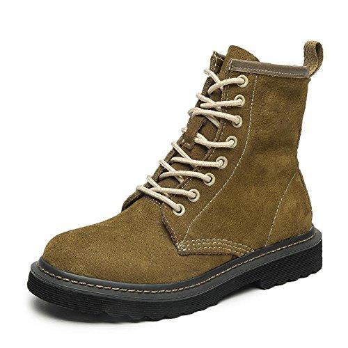 rz Damen Leder Schuhe Herbst Eben Frühling Echt Knöchel britisch Stil Freizeit Draussen , Green , EUR 38/ UK 5.5 (Sparkly Green Schuhe)