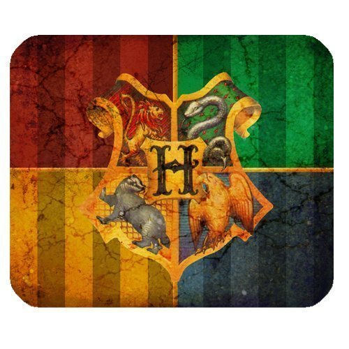 ROBIN YAM Personalized Harry Potter Rectangle Non-Slip Rubber Mousepad