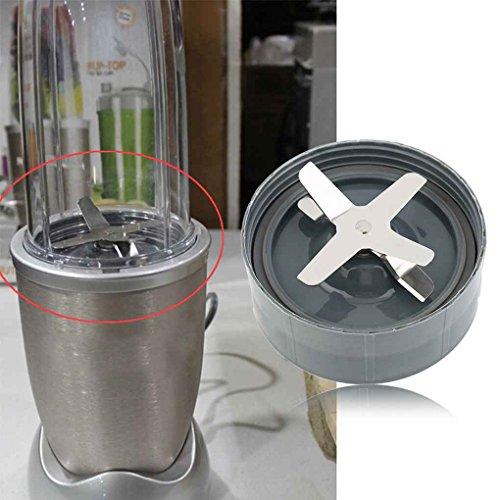 Preisvergleich Produktbild Masterein Edelstahl Juicer Mixer Blade Basis Sitz Ersatzteile Cross Blade Blender 900W