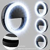 B-Creative Lampe à Selfie LED pour téléphone Portable Noir