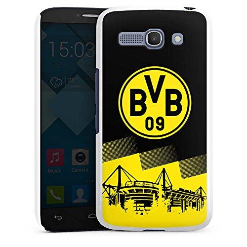 DeinDesign Alcatel One Touch Pop C9 Hülle Case Handyhülle BVB Logo Borussia Dortmund