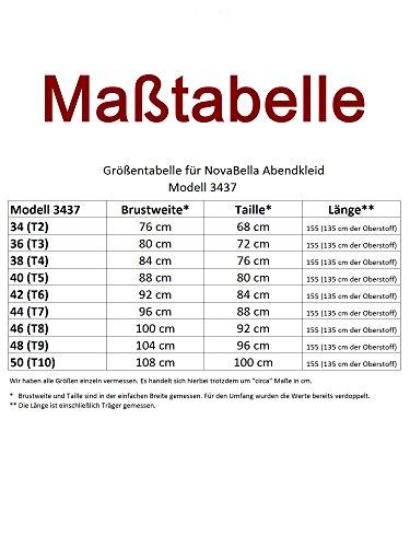 NovaBelle -  Vestito  - linea ad a - Basic - Senza maniche  - Donna Menta