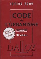 Code de l'urbanisme 2009 commenté
