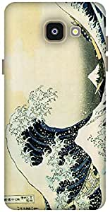 The Racoon Grip The Big Wave - Hokusai hard plastic printed back case / cover for Samsung Galaxy A5(2016)