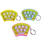 LIMITA Whac-a-mole Game Electronic Board Game Portable Decompression Toy & Key Buckle (stochastic)