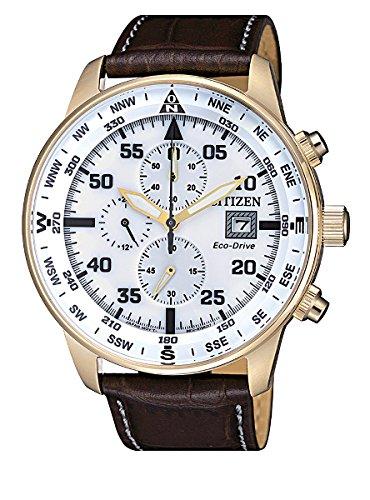 Citizen orologio uomo cronografo of collection aviator chrono ca0693-12a