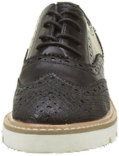Xti 046706, chaussures Derby femme Noir (Black)