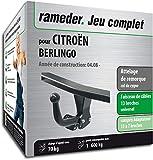 Rameder Attelage démontable avec Outil pour CITROËN BERLINGO + Faisceau 13 Broches...
