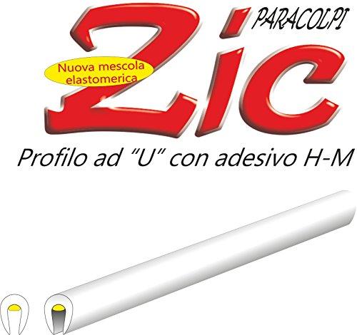 Preisvergleich Produktbild Quattroerre 12126Paar Profile Türdichtung für Auto, Weiß, 850mm