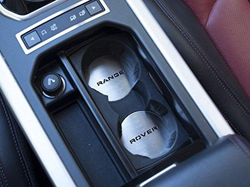 Range Rover negro Top Set de cuatro negro Metal coche v/álvula neum/ático Cap polvo tapa Vogue Autobiography HSE din/ámico SRV Evoque