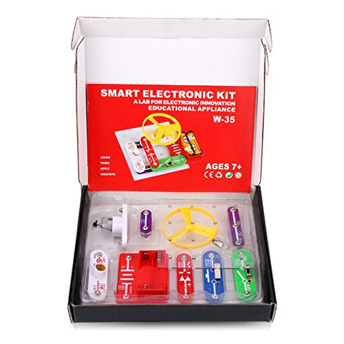 W-35 Educational Circuits Electronics Discovery Kit Snap Component Science Educational Toy