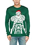 NIZZIN Unisex Marcell Pullover, Grün (Green 19-5420), Large