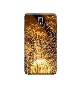 Ebby Premium 3d Desinger Printed Back Case Cover For Samsung Note 3 (Premium Desinger Case)