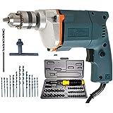 KOISA Tiger 10 mm Drill Machine 350 w Combo of Drill Machine + 13 Drill Bit Set + 41Pcs Tool Kit Set by Balaji Trading co.