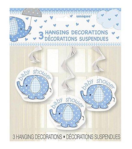 Islander Fashions UmbrellaPhants h�ngen Swirl 26 Zoll Dusche Boy Party Supplies Zubeh�r Pack von 3 Einheitsgr��e