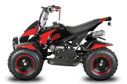 Power mini Kinder Quad Mini Atv 49cc Quad Miniquad Elektro Starter Fernbedienung Kinderquad Cobra 6 Zoll