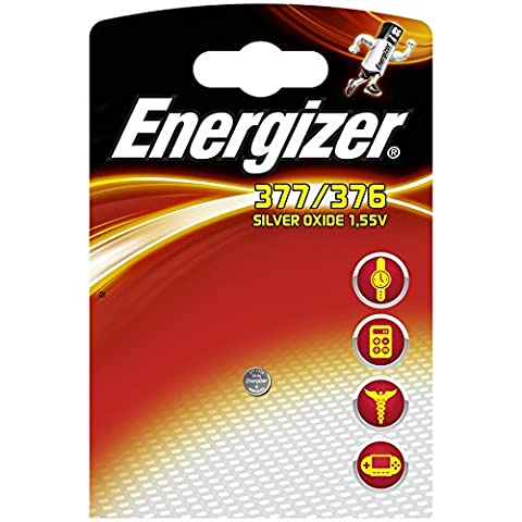 Energizer 377/376 Silver Oxide Battery