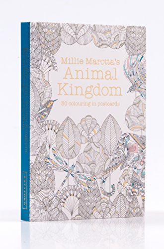 Millie Marotta's Animal Kingdom Postcard Book: 30 Beautiful Cards for Colouring in (Postcards)