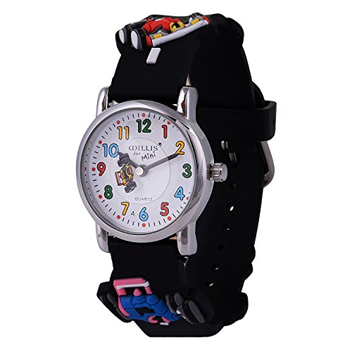 Kids watch Handgelenk Uhren Cute My First Easy Reader Wasserdicht Time Teacher Kinder Armbanduhr 3D Cartoon Quarz in für Jungen Mädchen