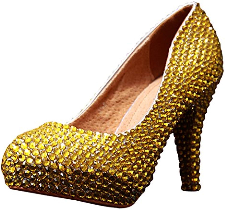 Semelle 12cm Or Heel Gold Miyoopark Compensée Femme 5zXTqT