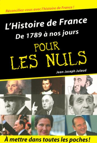 """<a href=""""/node/15189"""">L'histoire de France de 1789 à nos jours pour les nuls</a>"""